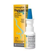 Cromoglicin hysan Nasenspray