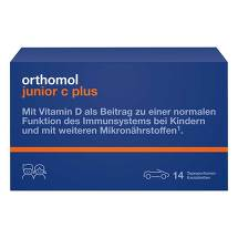 Orthomol Junior C plus Kautabletten Mandarine-Orange