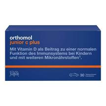 Produktbild Orthomol Junior C plus Kautabletten Mandarine-Orange