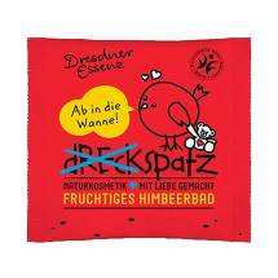 Produktbild Dresdner Essenz Dreckspatz fruchtiges Himbeerbad