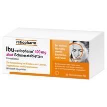 Produktbild Ibu Ratiopharm 400 mg akut Schmerztbl. Filmtabletten