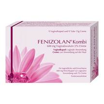 Fenizolan Kombi 600 mg Vaginalovulum + 2% Creme