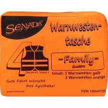 Produktbild Senada Warnweste orange Family Tasche