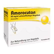 Amorocutan 50 mg / ml wirkstoffhaltiger Nagellack
