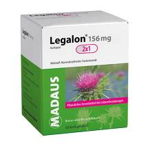 Produktbild Legalon 156 mg Hartkapseln