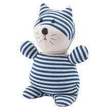 Produktbild Warmies Pop Katze blau / weiß gestreift