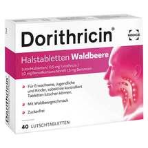 Produktbild Dorithricin Halstabletten Waldbeere