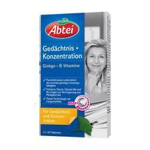 Abtei Ginkgo + Bacopa B-Vitamine Depot Tabletten