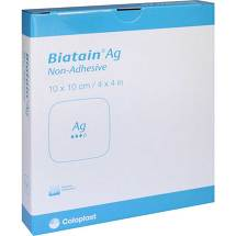 Produktbild Biatain Ag Schaumverband 10x10 cm nicht haftend