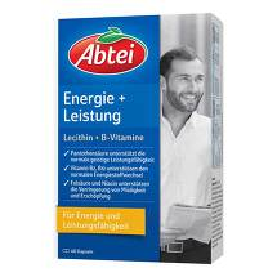 Abtei Lecithin 2000 Plus B-Vitamine Kapseln
