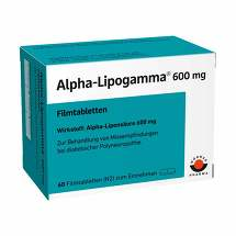 Produktbild Alpha Lipogamma 600 mg Filmtabletten