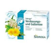 Produktbild Sidroga Verdauungs- und Gallentee Filterbeutel