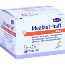 Produktbild Idealast-haft color Binde 4 cm x 4 m rot