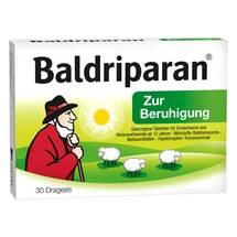 Produktbild Baldriparan Zur Beruhigung überzogene Tabletten
