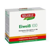 Produktbild Eiweiss 100 Cappuccino Megamax Pulver