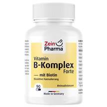Vitamin B Komplex + Biotin Forte Kapseln