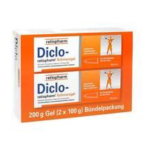 Diclo Ratiopharm Schmerzgel Bündelpackung