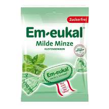 Produktbild Em-eukal Hustenbonbons Milde Minze zuckerfrei
