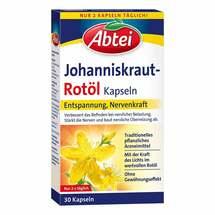 Produktbild Abtei Johanniskraut Rotöl Kapseln