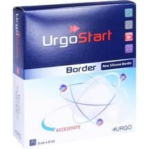 Produktbild Urgostart Border 8x8 cm Schaumstoffwundverband
