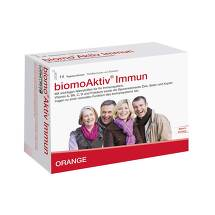 Produktbild Biomo Aktiv Immun Trinkflasche + Tabletten 14-Tages-Kombi