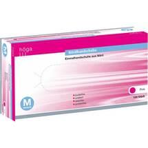 Produktbild Nitril Handschuhe puderfrei Größe M pink