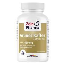 Produktbild Grüner Kaffee Extrakt 450 mg Kapseln