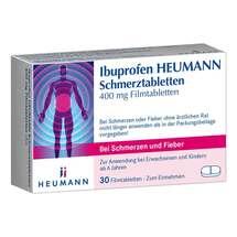 Produktbild Ibuprofen Heumann Schmerztabletten 400 mg