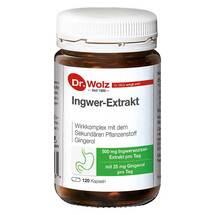 Produktbild Ingwer Extrakt Dr. Wolz Kapseln
