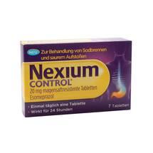 Produktbild Nexium Control 20 mg magensaftresistente Tabletten