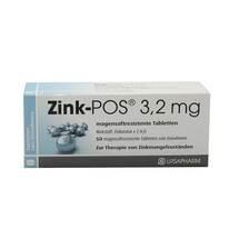 Produktbild Zink POS 3,2 mg magensaftresistente Tabletten