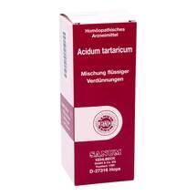 Produktbild Acidum Tartaricum Tropfen zum Einnehmen