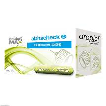 Produktbild Alphacheck droplet Pen Nadeln 4 mm