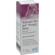 Produktbild Terbinafin HCL acis 10 mg / g Spray