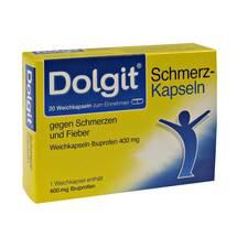 Dolgit Schmerzkapseln gegen Schmer.und Fieber 400 mg