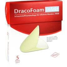 Produktbild Dracofoam Infekt Ferse Schaumstoff Wundauflage