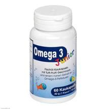 Produktbild Omega 3 Junior Berco Kaukapseln