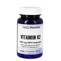 Produktbild Vitamin K2 100 ug GPH Kapseln