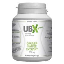 Produktbild Ubx green Grüner Kaffee Extrakt 300 mg Kapseln