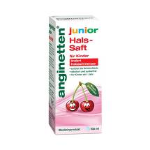 Produktbild Anginetten junior Hals-Saft