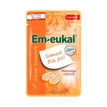 Produktbild Em-eukal Kleine Momente Blutorange zuckerfrei Bonbons