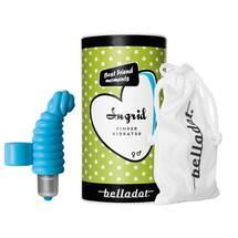 Produktbild Belladot / Ingrid Fingervibrator mit Batterien blau