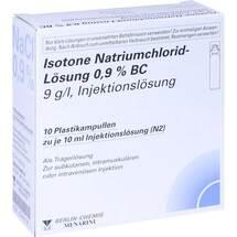 Produktbild Isotone Nacl Lösung 0.9% BC Plastik Ampulle Injektionslösung