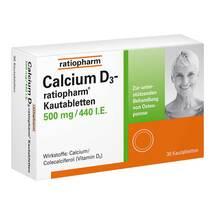 Calcium D3 ratiopharm Kautabletten