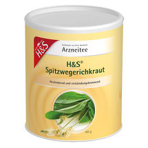 H&S Spitzwegerichkraut loser Tee