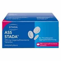 Produktbild ASS STADA 100 mg magensaftresistente Tabletten