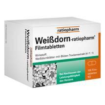 Produktbild Weissdorn Ratiopharm Filmtabletten