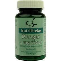 Produktbild Mangan 2 mg Citrat
