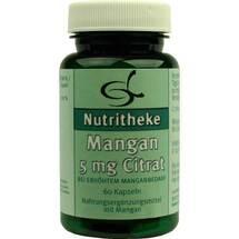Produktbild Mangan 5 mg Citrat Kapseln