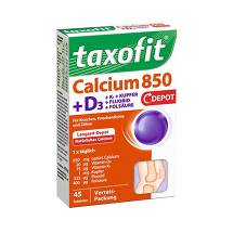 Produktbild Taxofit Calcium 850 + D3 Depot Tabletten